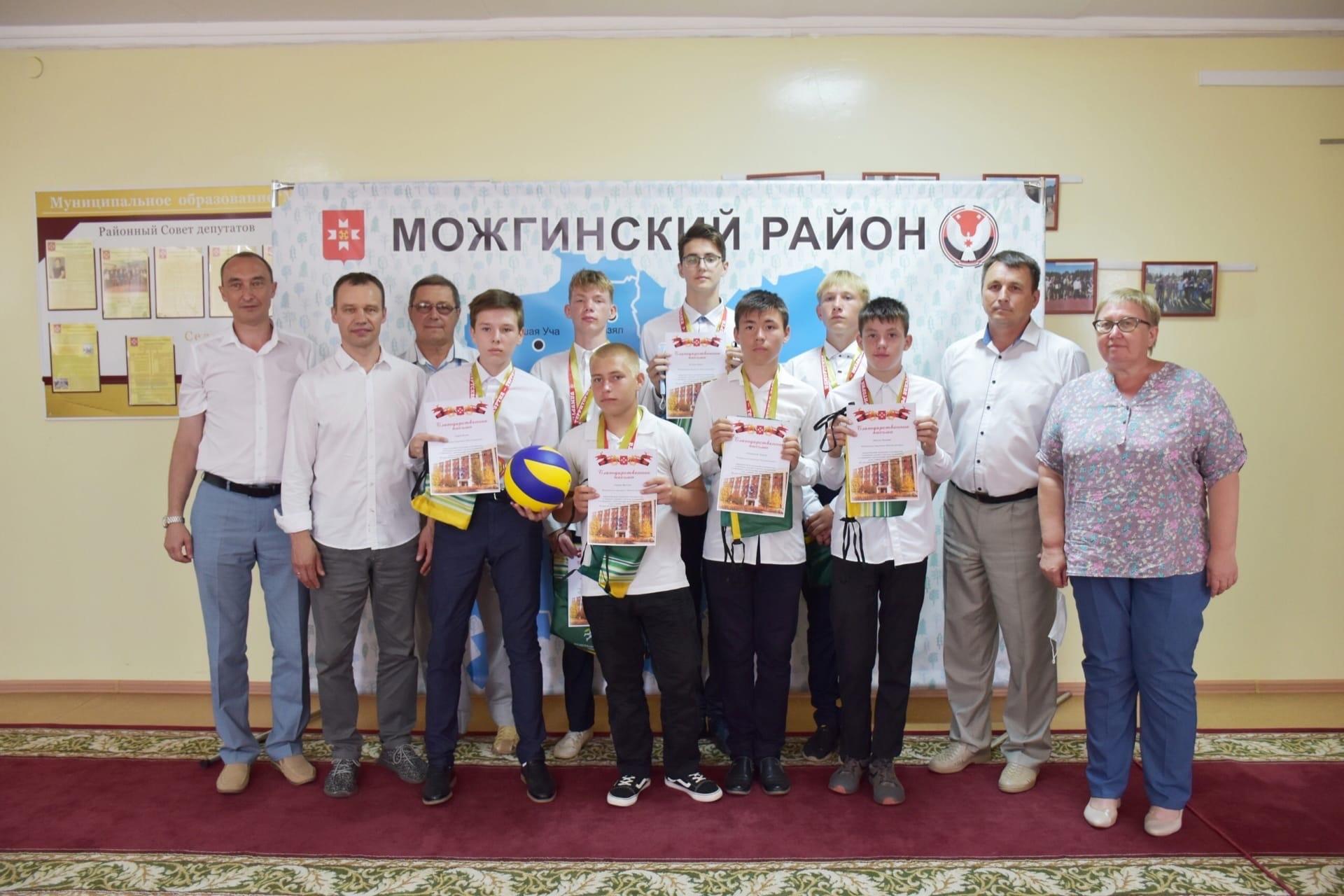 29 июня в администрации Можгинского района торжественно