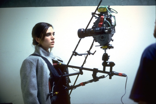 "Кадр с Дженнифер Коннелли на съемках фильма ""Реквием по мечте"", НьюЙорк, 1999 год."