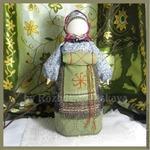 Как сделать славянские куклу «На беременность» своими руками