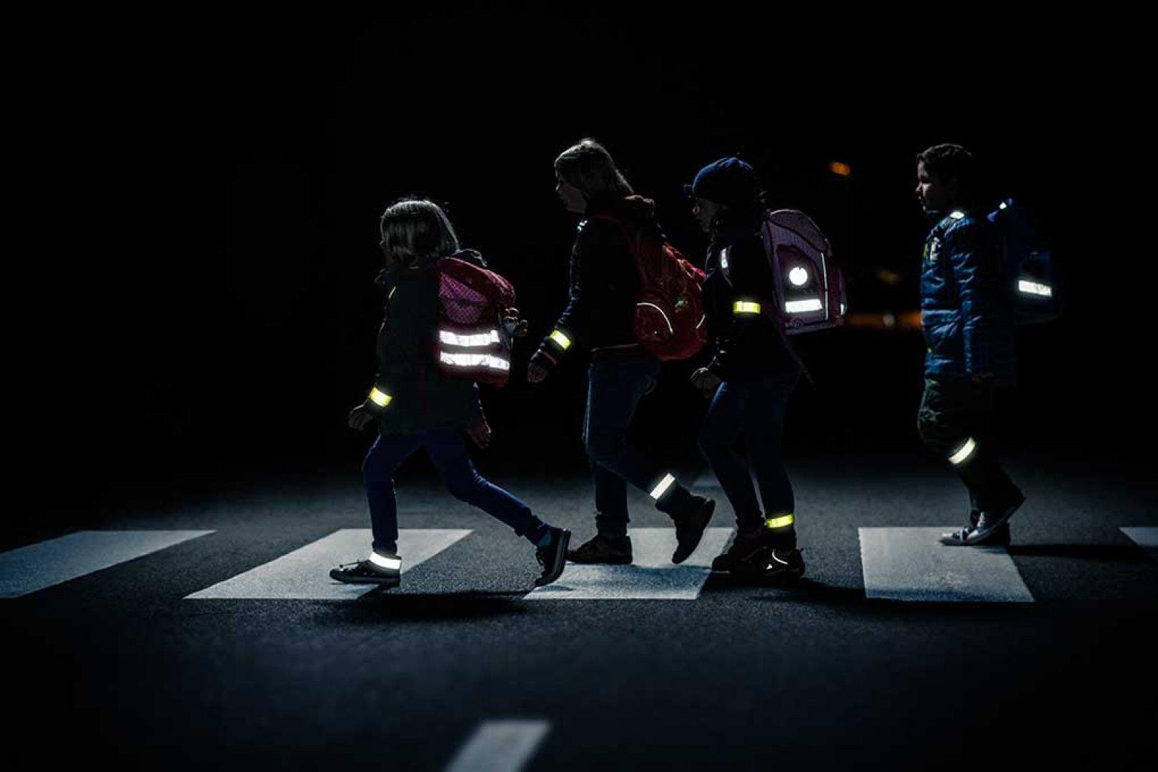 Световозвращающие элементы защищают вашу жизнь и здоровье