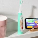 Детская электрическая зубная щётка Xiaomi Soocas C1, Green. Магазин Smart Mir. Чек!+ Гарантия