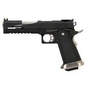 Модель пистолета WE Hi-Capa 6.0 Dragon Gas Black/Silver