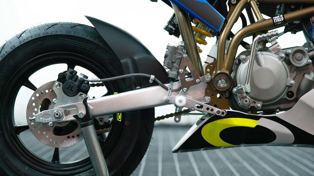 Ohvale GP-2 с 12-дюймовыми колёсами