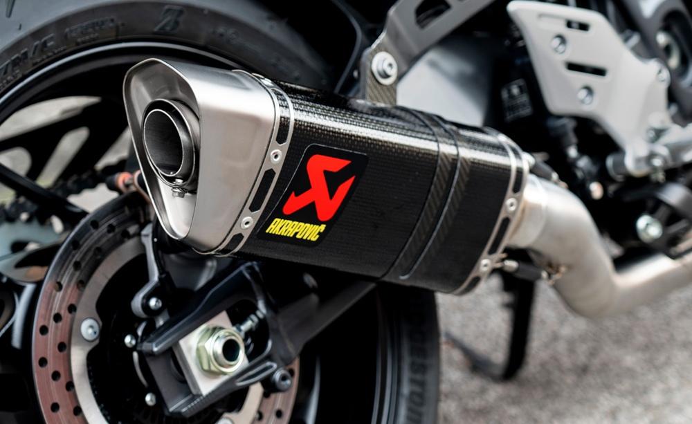 Линейка выхлопных систем Akrapovic Racing Line для Yamaha MT-09 2021