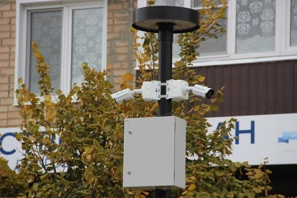 На улице Ленина установлены камеры видеонаблюдения...
