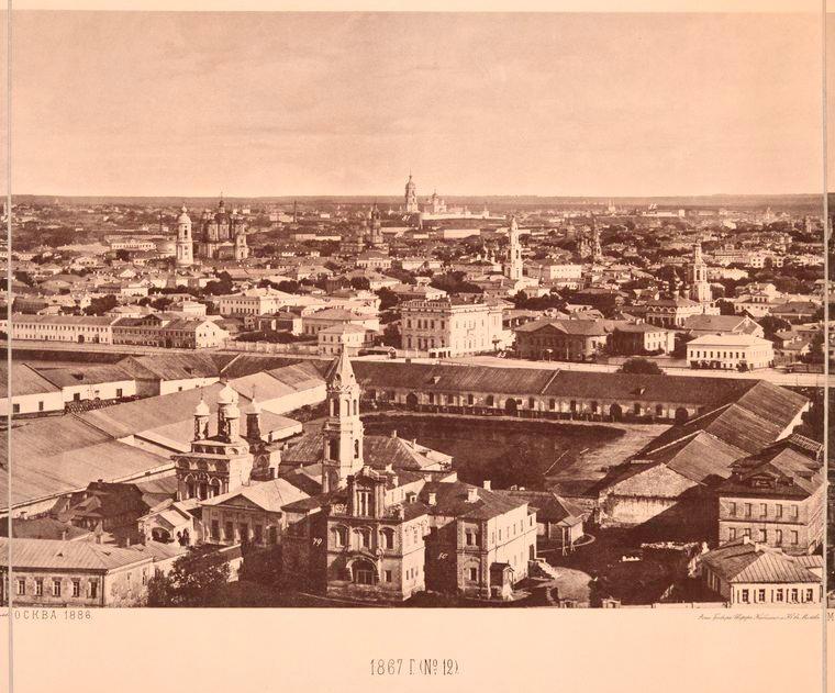 Москва без людей в 1867 году. Где все люди?, изображение №24