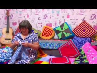 Мастер-класс по лоскутному вязанию от Риты Илембетовой