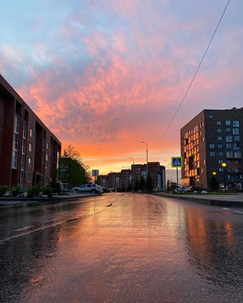 Доброй ночи, Томск ..