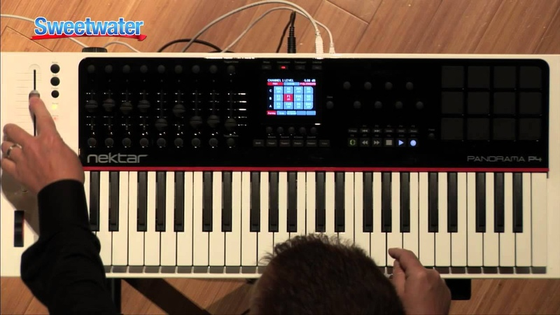 Nektar Panorama P 4 Keyboard Controller for Propellerhead Reason Sweetwater Sound