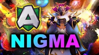 NIGMA vs ALLIANCE -  AMAZING GAME - DPC EU DREAMLEAGUE S15 DOTA 2