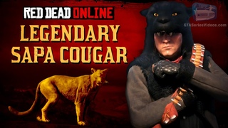Red Dead Online - Legendary Sapa Cougar Mission [Animal Field Guide]