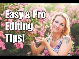Basic Portrait Editing Tutorial // Lightroom 5 & Photoshop CS6\\ш