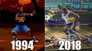 Evolution of Shaq Fu Games [1994-2018]