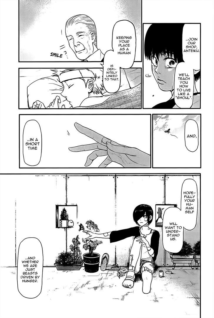 Tokyo Ghoul, Vol.1 Chapter 9 Hatch, image #21