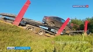 Жуткое ДТП со смертельным исходом: В Башкирии «десятка» въехала в автовоз (ВИДЕО)