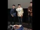 210918: Чжи Сон на промоушене фильма Fengshui.