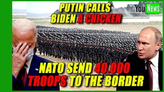 NATO SEND  TROOPS TO THE BORDER! Russia accuses US, NATO of moving troops to its border.