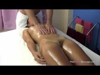 Slim thai girl massaged and fucked in happy ending massage thai pussy massage