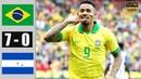 Brazil vs Honduras 7−0 Bàn thắng có một không 2 nốc ao đội bạn một cách triệt để nhất