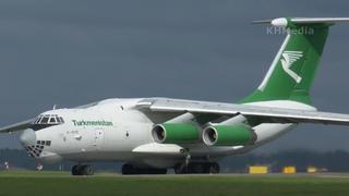 тяжёлый день) для Ил-76 Туркменистан EZ-F426 SVO 2020