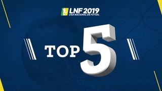LNF2019 - Top 5 - Gols - 7ª Semana