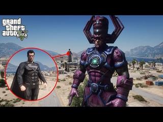 GTA 5 - Superman VS Galactus