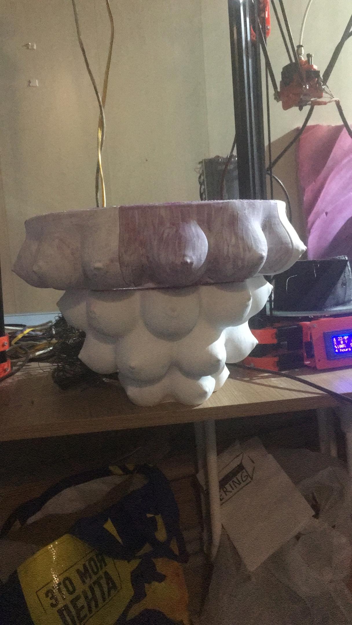 Необычная ваза