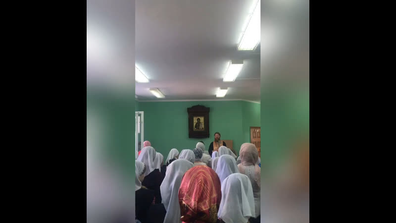 Проповедь Батюшки в день Ангела нашей гимназии (09.09.19)