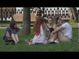 Прогулка по Москве 1 Чистые пруды, Пл. Петровские ворота, Сад Эрмитаж 2020-07-12 Test Sony RX100 VII