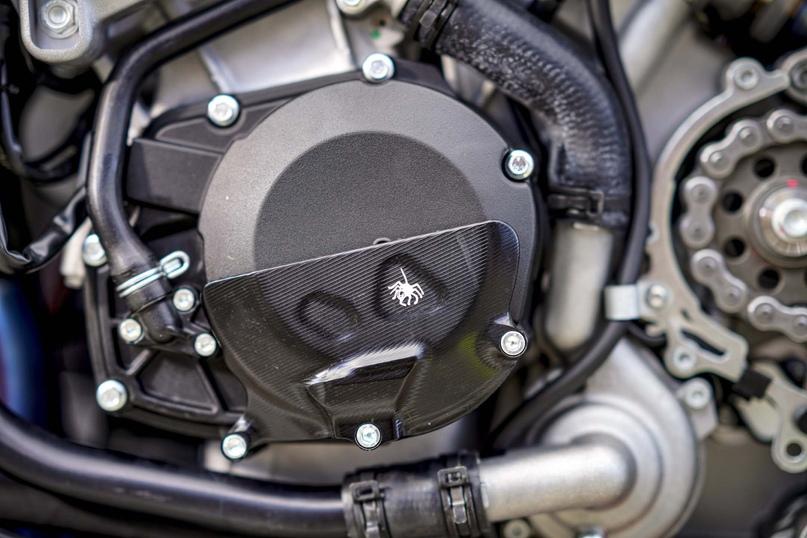 Трековая версия Aprilia Tuono V4 X получила 221 л.с. мощности