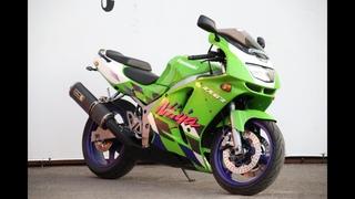 МОТОБАЗА.№1796 Kawasaki ZX-6 R 1997 год.