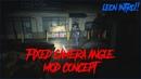 Resident Evil 2 Remake [FIXED CAMERA ANGLE MOD CONCEPT] [LEON INTRO!!]