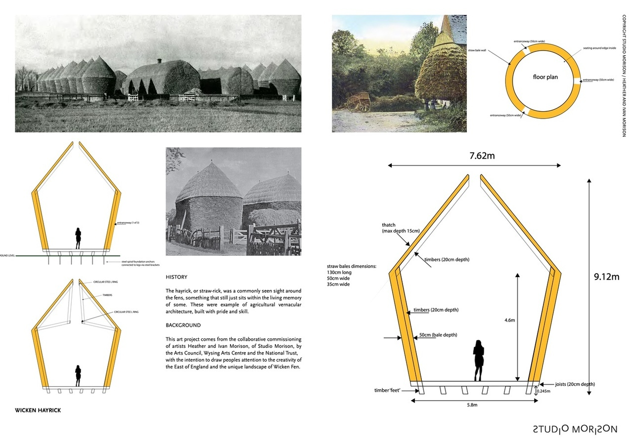 Mother Pavilion \ Studio Morison \ Wicken, United Kingdom