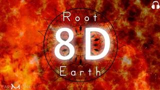 228 Hz | Earth Element | Root Chakra Healing | Shamanic Hypnosis | 8D Meditation