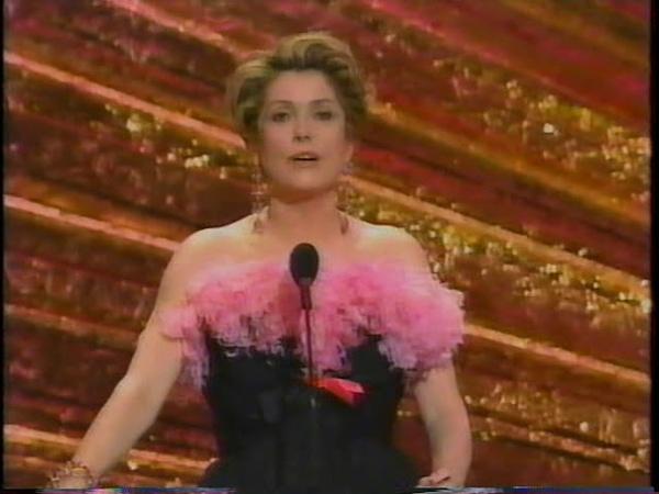 Catherine Deneuve Tribute To Edith Head 1993