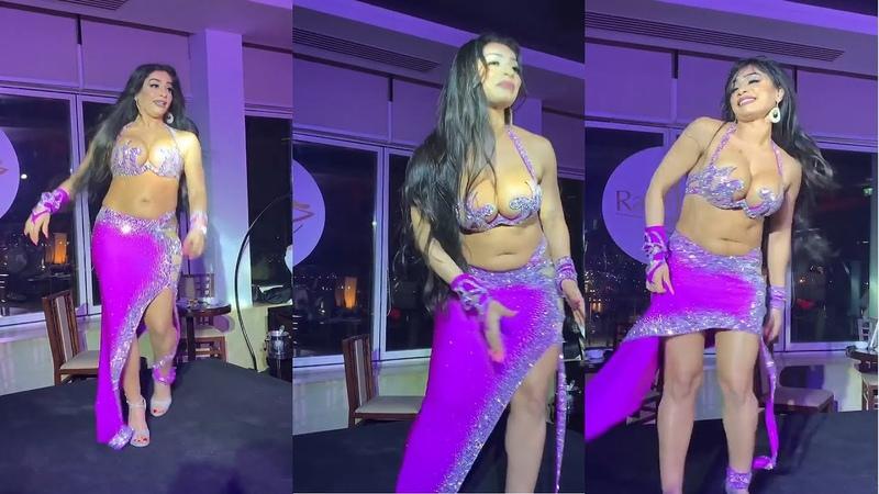 Najla Ferreira belly dance Bent Akaber - رقص شرقى
