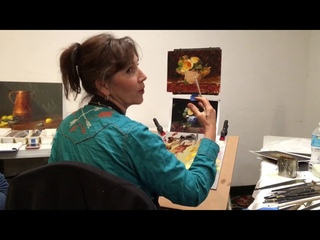 Painting a Poem not a Novel with Elizabeth Robbins
