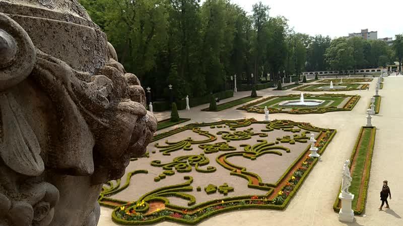 сад дворца Броницких