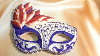 Шоколадная карнавальная маска🎭Силиконовые формы Арт-Студии Просвет-Распаковка 🎁 Фантазийный шоколад🍫