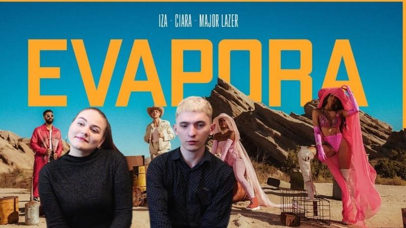 IZA, Ciara and Major Lazer - Evapora | REACTION |
