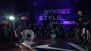 Look (pushkacrew) vs Ma2t (iotaspirit) | Hip-Hop 1x1 Semifinal | Street Style Battle 2k20