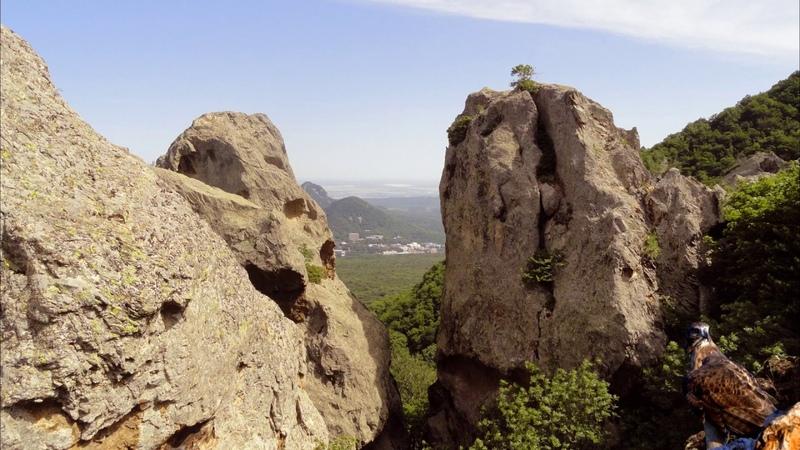 орлиные скалы г Бештау