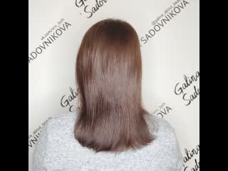 Ботокс для кудрявых волос с максимальным сохранением объема