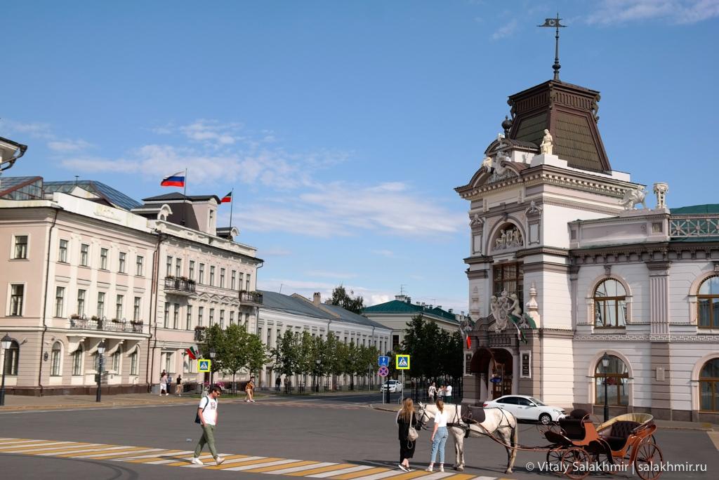 Площадь перед Кремлем – Казань 2020