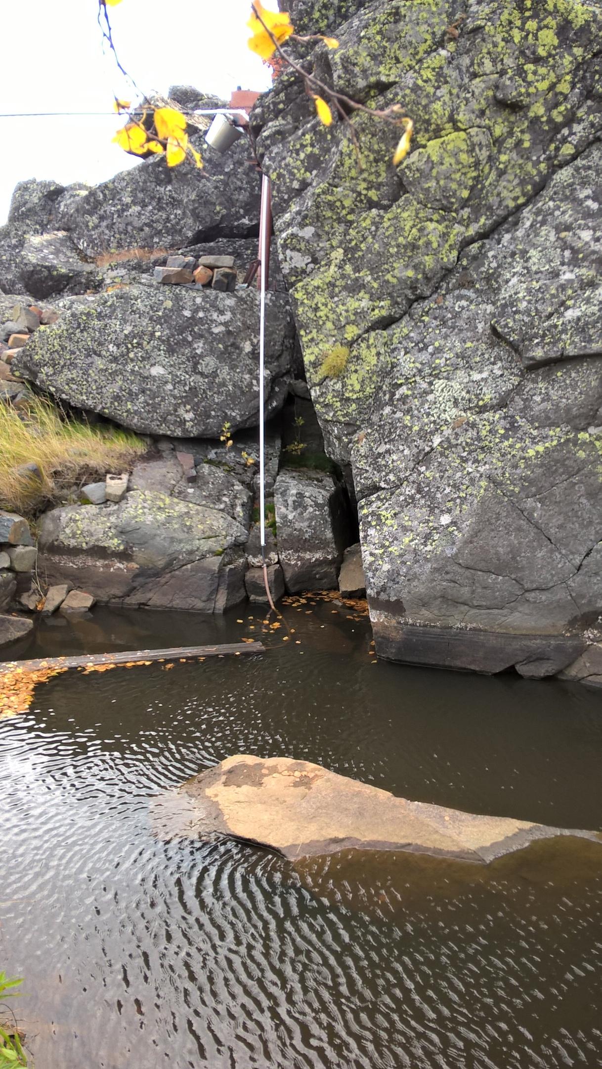 водоём на вершине Качканар