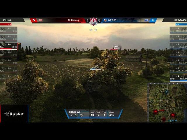 WGL GF 2015 El Gaming vs WP.SC6 QUATERFINAL ROUND 3 DAY 2