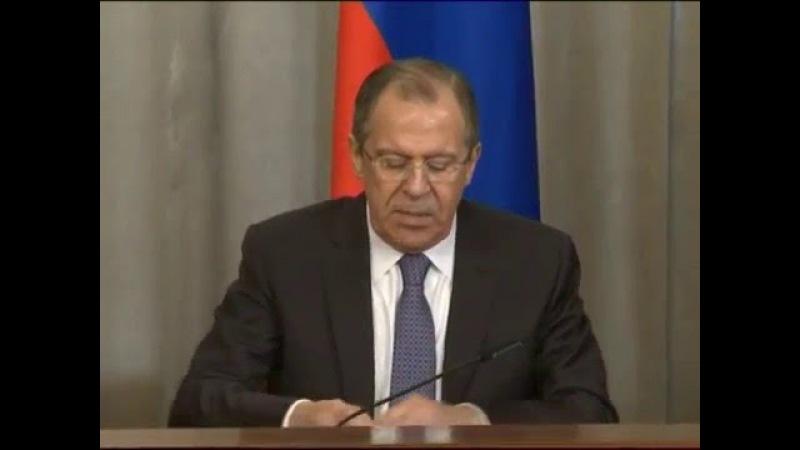 Пресс-конференция С.Лаврова и Д.Буркхальтера   Press-Conference of S.Lavrov and Didier Burkhalter