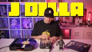 Beat Making J DILLA 🍩 Lofi Hip-Hop Soul Vinyl sample flip