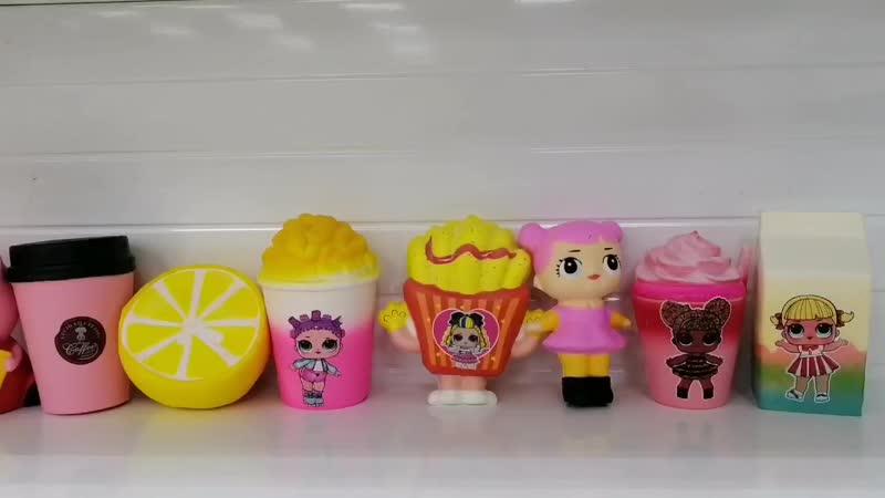 Новые игрушки сквиши - антистресс, 120-150 руб.