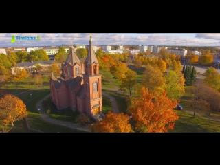 Осень в вааса / autumn in vaasa / syksyinen vaasa, suomi. finland